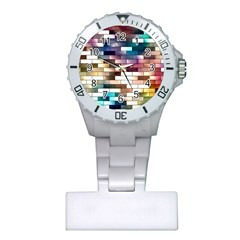 Background Wall Art Abstract Plastic Nurses Watch