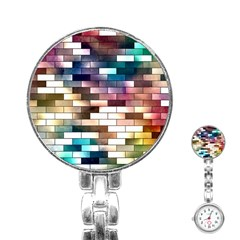 Background Wall Art Abstract Stainless Steel Nurses Watch