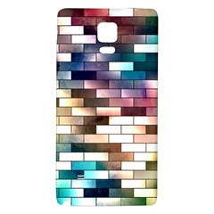 Background Wall Art Abstract Galaxy Note 4 Back Case