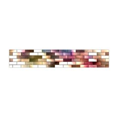 Background Wall Art Abstract Flano Scarf (mini)