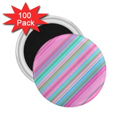 Background Texture Pattern 2 25  Magnets (100 Pack)