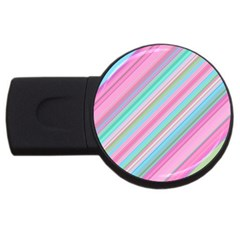 Background Texture Pattern Usb Flash Drive Round (4 Gb)
