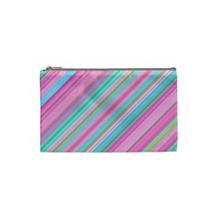 Background Texture Pattern Cosmetic Bag (small)