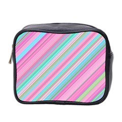 Background Texture Pattern Mini Toiletries Bag 2 Side