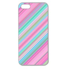 Background Texture Pattern Apple Seamless Iphone 5 Case (clear)