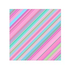 Background Texture Pattern Small Satin Scarf (square)