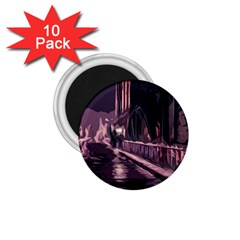 Texture Abstract Background City 1 75  Magnets (10 Pack)