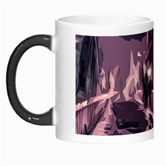 Texture Abstract Background City Morph Mugs