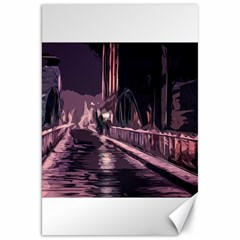 Texture Abstract Background City Canvas 20  X 30