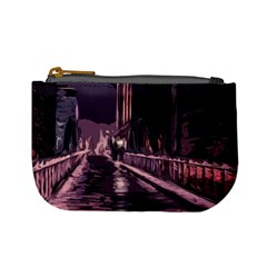 Texture Abstract Background City Mini Coin Purses