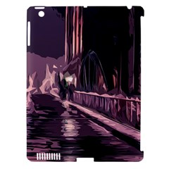 Texture Abstract Background City Apple Ipad 3/4 Hardshell Case (compatible With Smart Cover)
