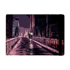 Texture Abstract Background City Apple Ipad Mini Flip Case
