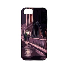 Texture Abstract Background City Apple Iphone 5 Classic Hardshell Case (pc+silicone)