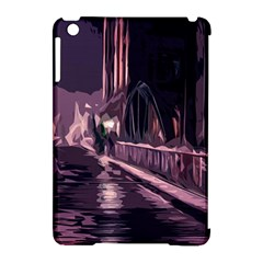 Texture Abstract Background City Apple Ipad Mini Hardshell Case (compatible With Smart Cover)