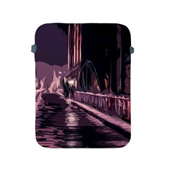 Texture Abstract Background City Apple Ipad 2/3/4 Protective Soft Cases