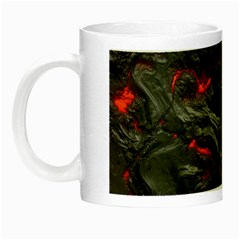 Rock Volcanic Hot Lava Burn Boil Night Luminous Mugs