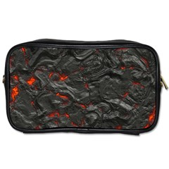 Rock Volcanic Hot Lava Burn Boil Toiletries Bags 2 Side