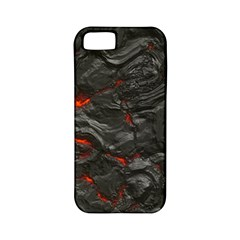 Rock Volcanic Hot Lava Burn Boil Apple Iphone 5 Classic Hardshell Case (pc+silicone)