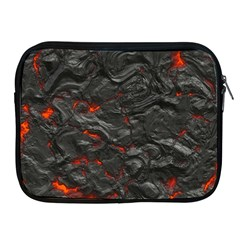 Rock Volcanic Hot Lava Burn Boil Apple Ipad 2/3/4 Zipper Cases