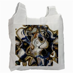 Time Abstract Dali Symbol Warp Recycle Bag (one Side)