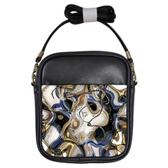 Time Abstract Dali Symbol Warp Girls Sling Bags