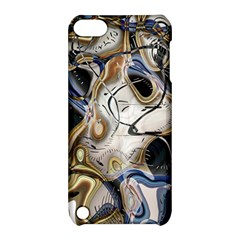 Time Abstract Dali Symbol Warp Apple Ipod Touch 5 Hardshell Case With Stand