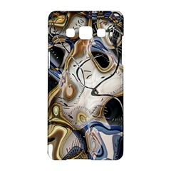 Time Abstract Dali Symbol Warp Samsung Galaxy A5 Hardshell Case