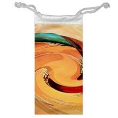 Spiral Abstract Colorful Edited Jewelry Bag