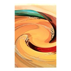 Spiral Abstract Colorful Edited Shower Curtain 48  X 72  (small)