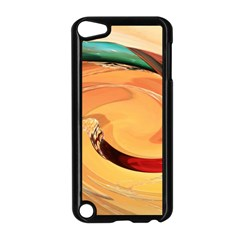 Spiral Abstract Colorful Edited Apple Ipod Touch 5 Case (black)