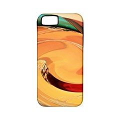 Spiral Abstract Colorful Edited Apple Iphone 5 Classic Hardshell Case (pc+silicone)