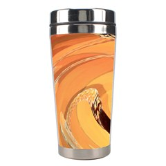 Spiral Abstract Colorful Edited Stainless Steel Travel Tumblers