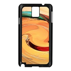 Spiral Abstract Colorful Edited Samsung Galaxy Note 3 N9005 Case (black)
