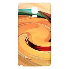 Spiral Abstract Colorful Edited Galaxy Note 4 Back Case
