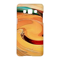 Spiral Abstract Colorful Edited Samsung Galaxy A5 Hardshell Case