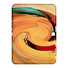 Spiral Abstract Colorful Edited Samsung Galaxy Tab 4 (10 1 ) Hardshell Case