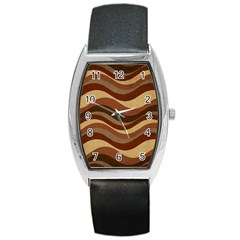 Backgrounds Background Structure Barrel Style Metal Watch