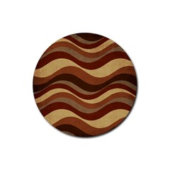 Backgrounds Background Structure Rubber Round Coaster (4 Pack)