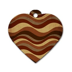 Backgrounds Background Structure Dog Tag Heart (two Sides)