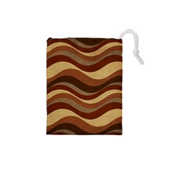 Backgrounds Background Structure Drawstring Pouches (small)