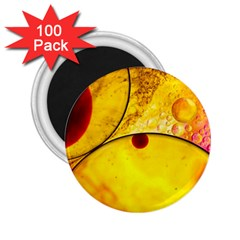 Abstract Water Oil Macro 2 25  Magnets (100 Pack)