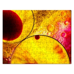 Abstract Water Oil Macro Rectangular Jigsaw Puzzl