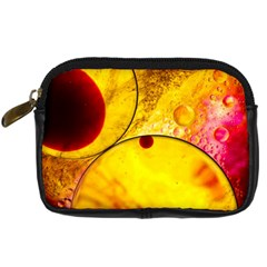 Abstract Water Oil Macro Digital Camera Cases
