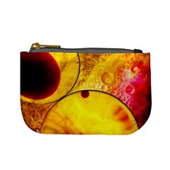 Abstract Water Oil Macro Mini Coin Purses