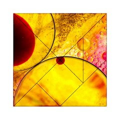 Abstract Water Oil Macro Acrylic Tangram Puzzle (6  X 6 )
