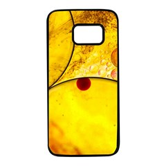 Abstract Water Oil Macro Samsung Galaxy S7 Black Seamless Case