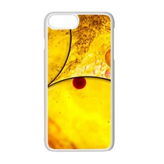 Abstract Water Oil Macro Apple Iphone 7 Plus Seamless Case (white)