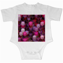 Cube Surface Texture Background Infant Creepers