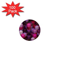 Cube Surface Texture Background 1  Mini Buttons (100 Pack)