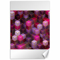 Cube Surface Texture Background Canvas 12  X 18